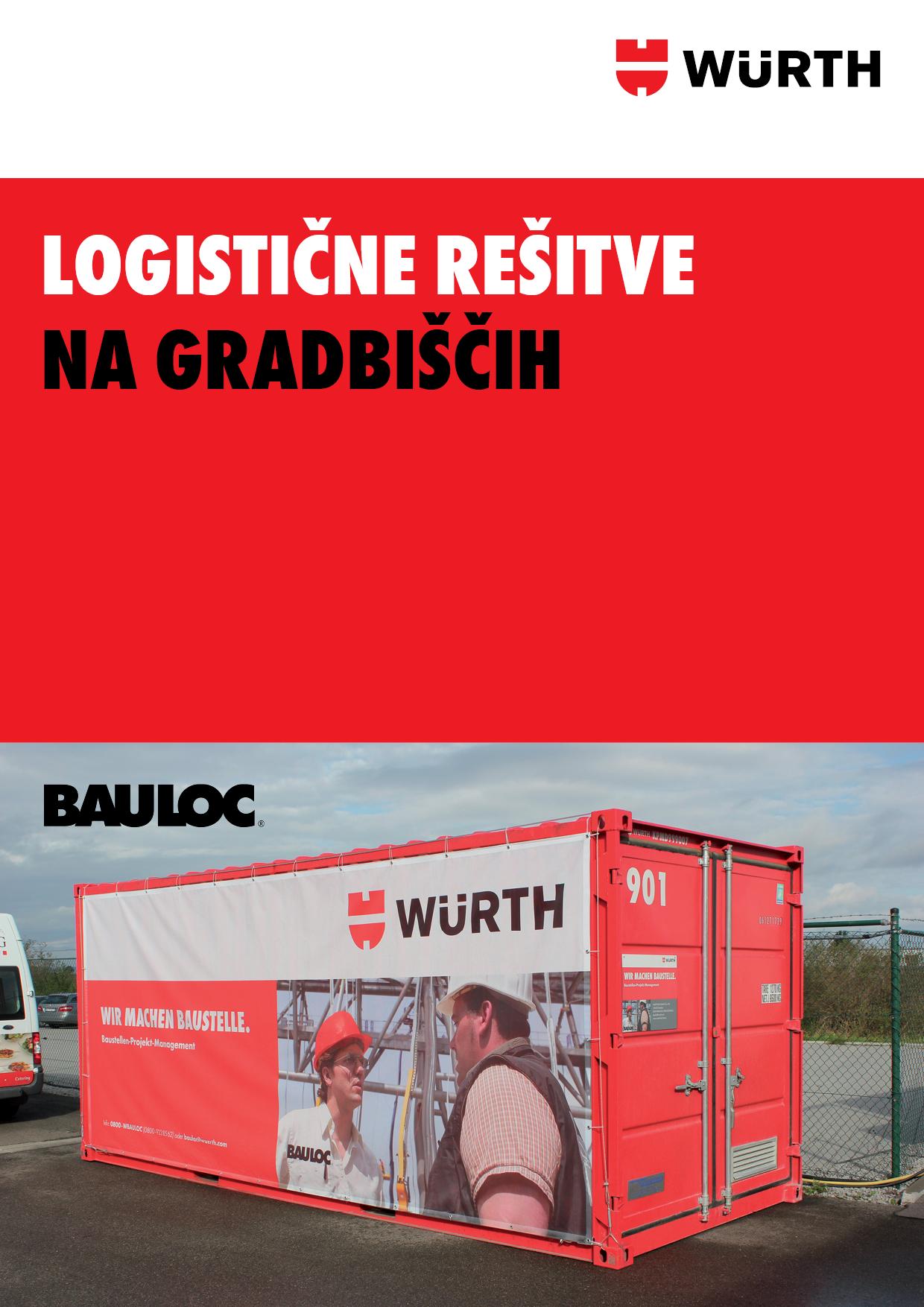 Logistične rešitve na gradbiščih, gradbišča, zabojnik